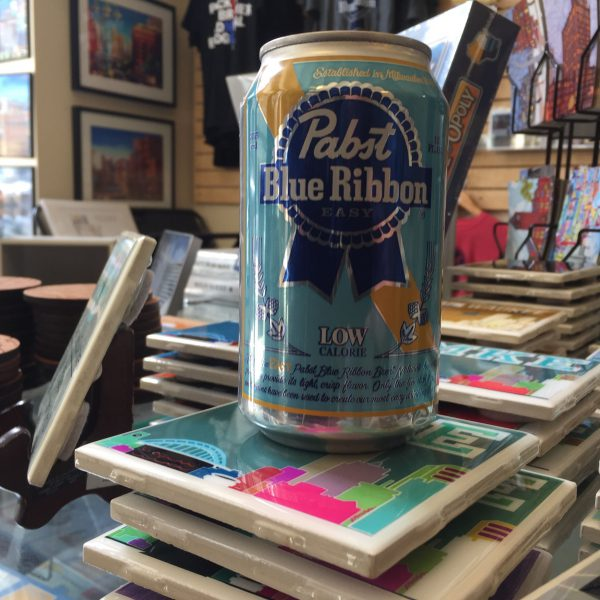 Pabst Blue Ribbon Easy Can Candle