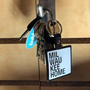 Milwaukee Home Keychain