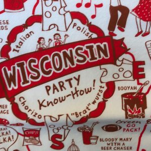 Wisconsin Party Know How Kitchen Towel