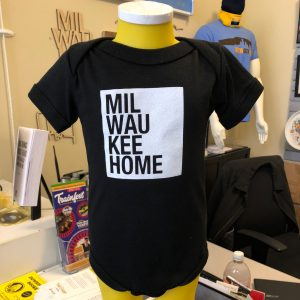 Milwaukee Home Onesie