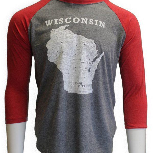 Wisconsin – Baseball Shirts