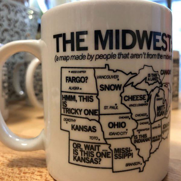 Midwest Map Mug