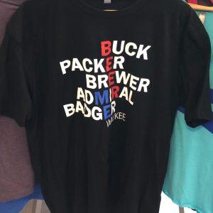Beer Me Waukee Team T-Shirt