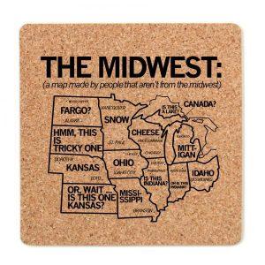 Midwest Cork Coaster