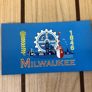 Milwaukee Flag Magnet