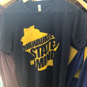 Milwaukee State of Mind T-Shirt – Yellow on Blue