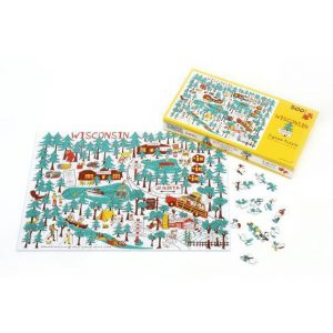 """Wisconsin """"Up North"""" Jigsaw Puzzle"""