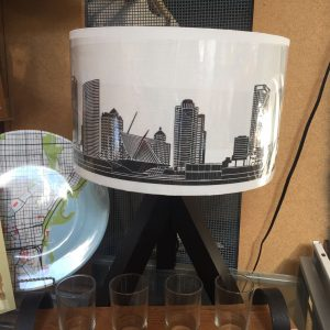Milwaukee Skyline Table Lamp