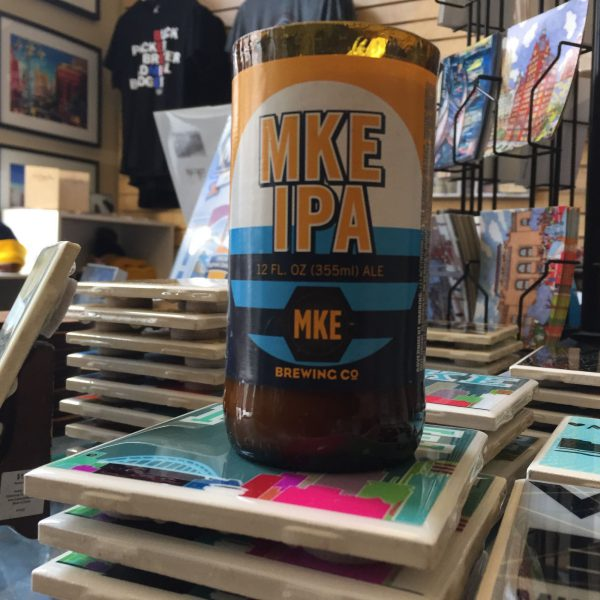 Milwaukee Brewing Company MKE IPA Candle