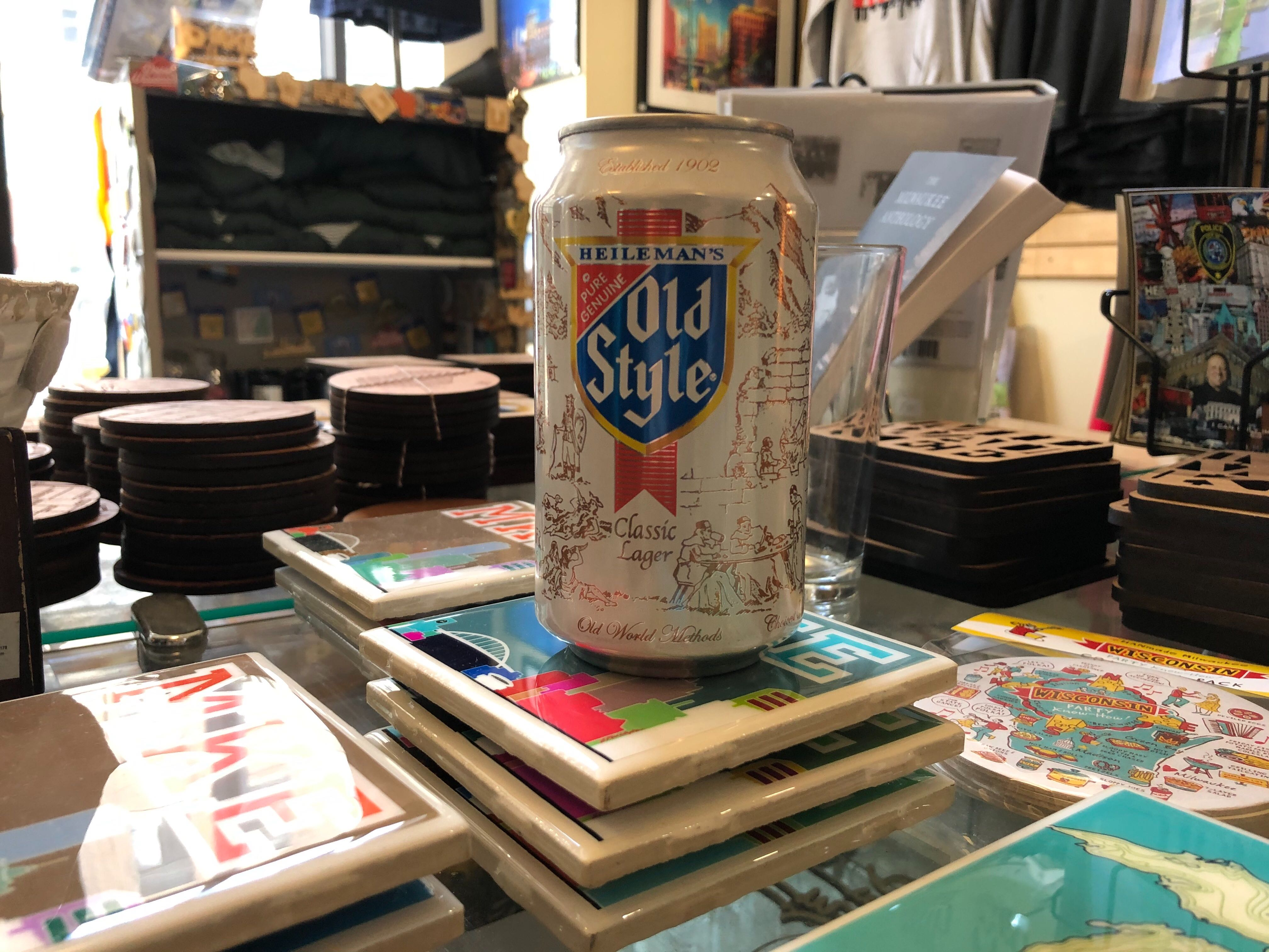 Old Style Beer Can Candle