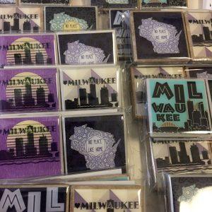 Milwaukee Tile Magnets – Set of 2