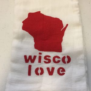 Wisco Love Towel