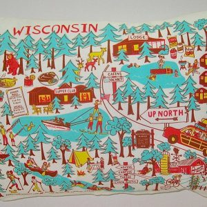 Up North Wisconsin Pillow