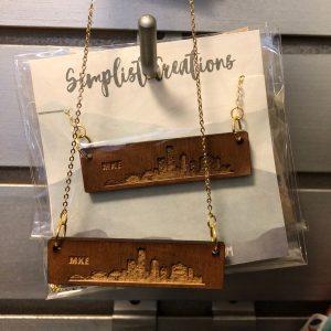 Milwaukee Skyline Necklace