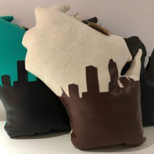 Milwaukee Skyline Wisconsin Pillows