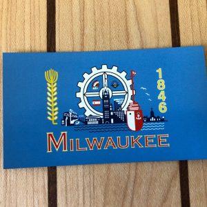 Milwaukee Flag Magnet