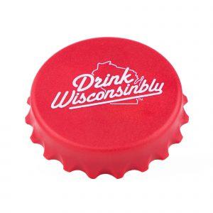 Drink Wisconsinbly Magnetic Bottle Cap Opener