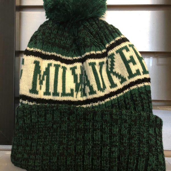 Green Milwaukee Stocking Cap