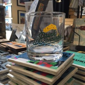 Drink Wisconsinbly Cheddarhead Cocktail Glass