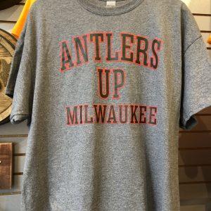 Antlers Up Milwaukee.